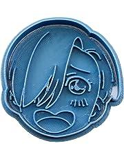 Cuticuter Viktor Amazing Face Yuri on Ice Cookie Cutter, Blue, 8x 7x 1.5cm