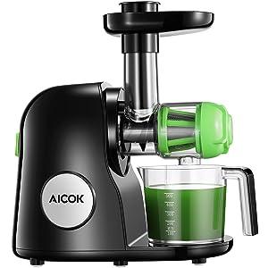 Aicok Juicer Slow Masticating Juicer Extractor