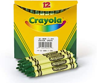 product image for Crayola Crayons in Green, Bulk Crayons, 12 Count