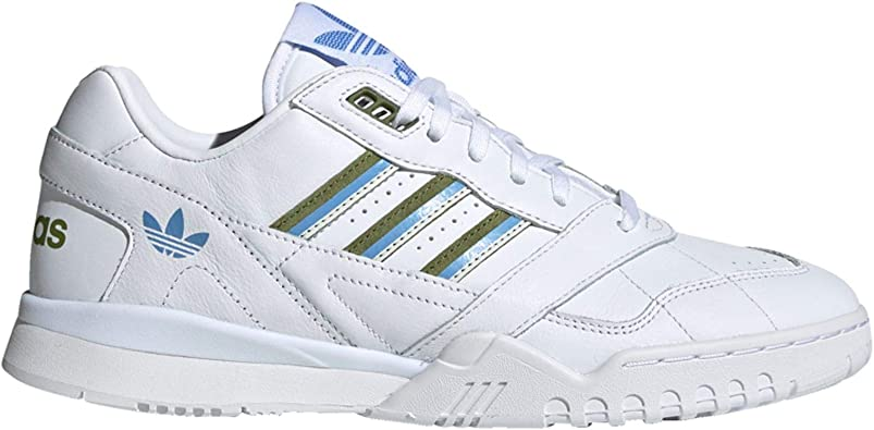 Adidas A.R. Trainer W White Tech Olive Real Blue: