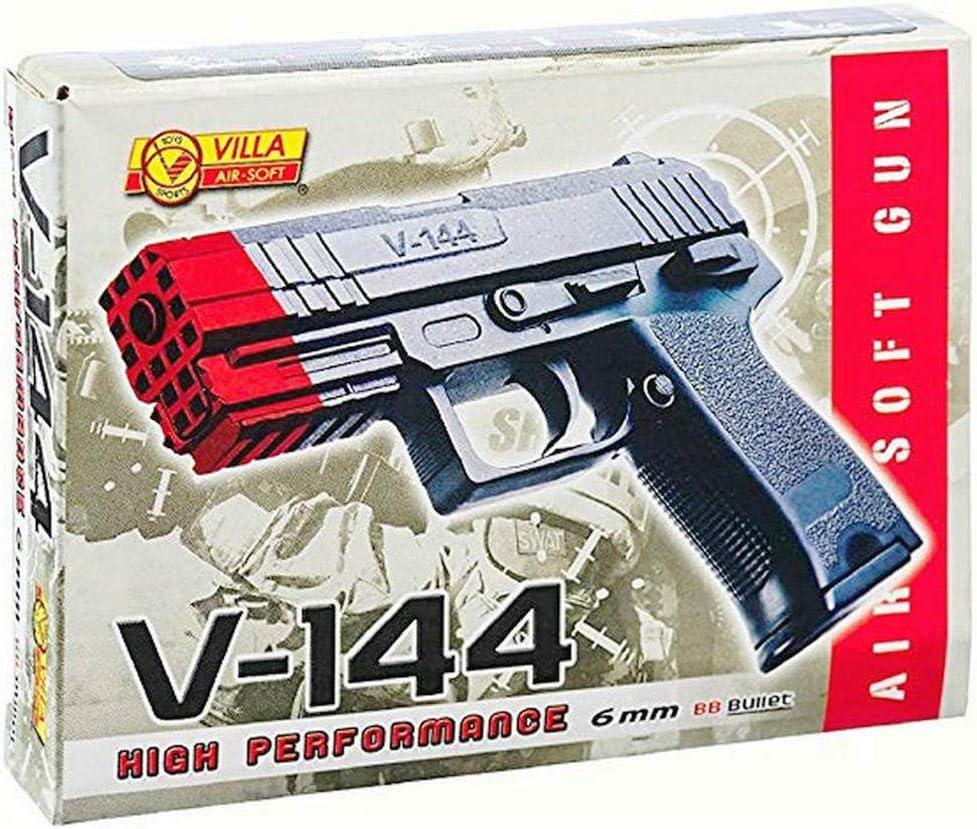 Pistola Giocattolo a Pallini, Armi Giocattolo, Calibro 6 mm, Miglior Regalo (V144)