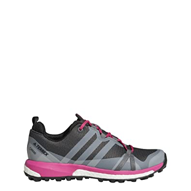 adidas outdoor Women s Terrex Agravic GTX Grey Four Grey One Real Magenta 6  B 3a316c138