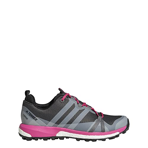 watch 7b311 b2351 adidas Mens TERREX Agravic GTX Outdoor Shoes, Grey FourGrey FourReal  Magenta