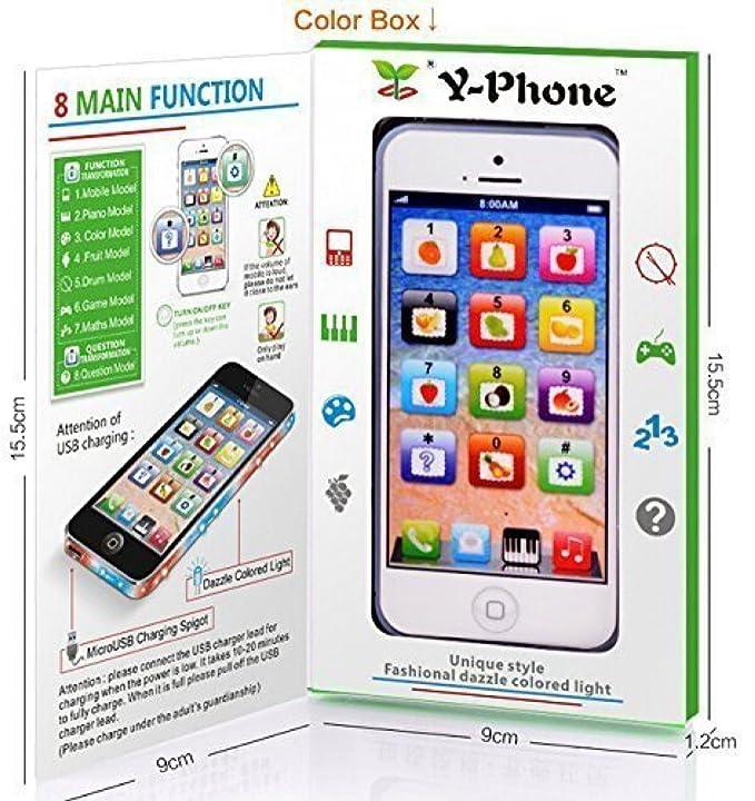 Amazon.com: Teléfono celular de juguete Yphone, para ...