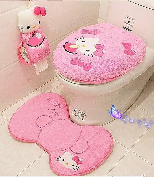Amazon.com: Ikeelife - Alfombrilla de baño de algodón ...