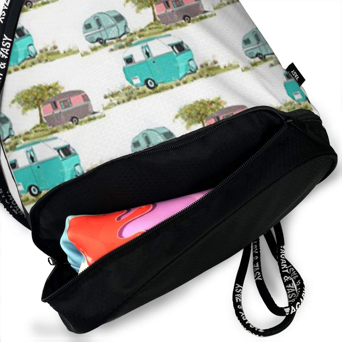 Lets Go Camping Retro Multifunctional Bundle Backpack Shoulder Bag For Men And Women