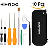 UPDATED Nintendo Triwing Screwdriver, E.Durable Professional Tool Kit for Nintendo Game Cartridge, Security Screw Driver Game Bit Set for New 3DS Wii NES SNES DS Lite GBA Gamecube ETC (Gamebits Set 1)