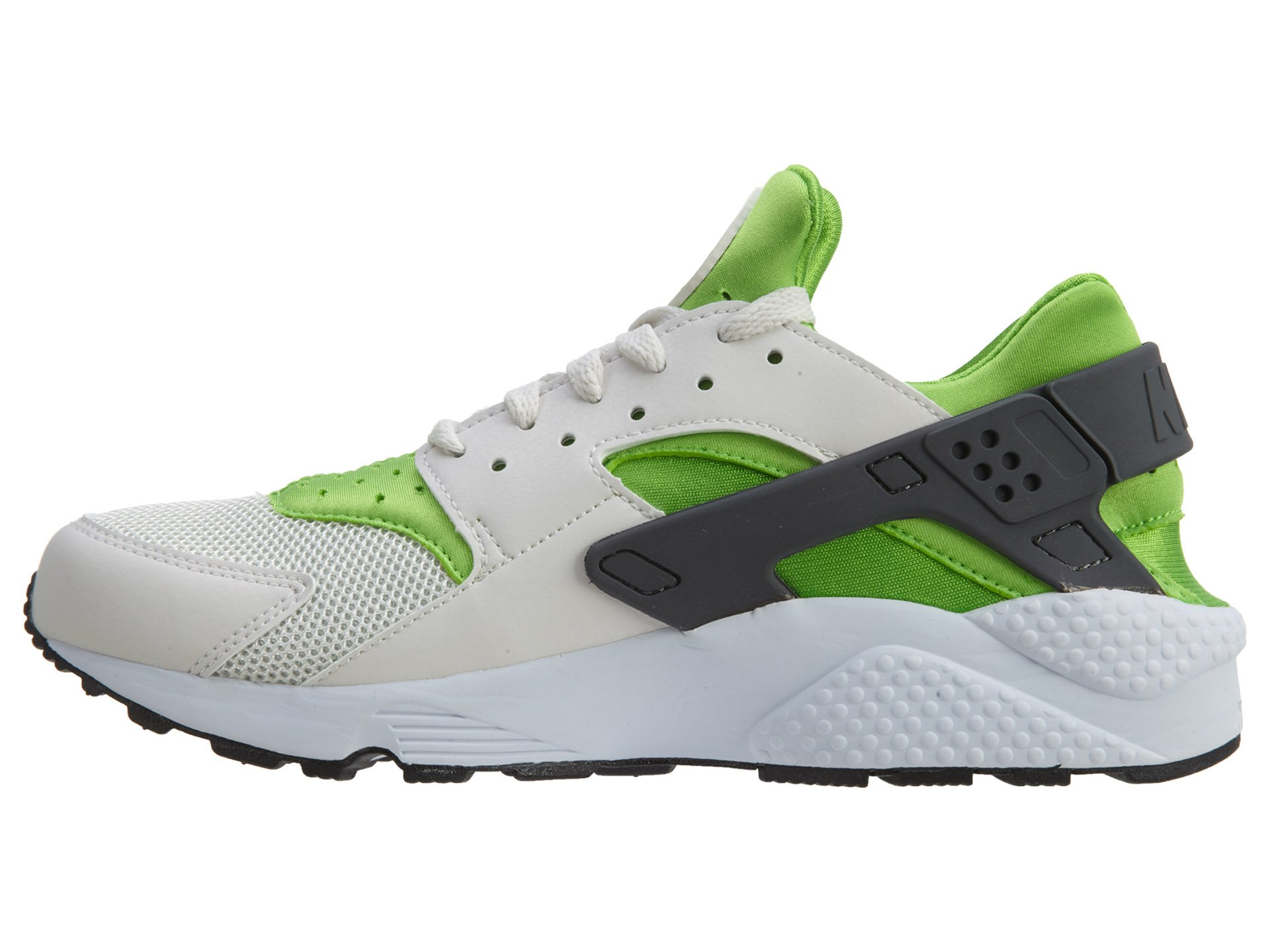 Nike Men's Air Huarache Actn Green/Vvd Orng Phntm Wht Running Shoe 10.5 Men US by NIKE (Image #4)