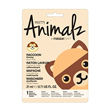 Pretty Animalz Raccoon Sheet Mask