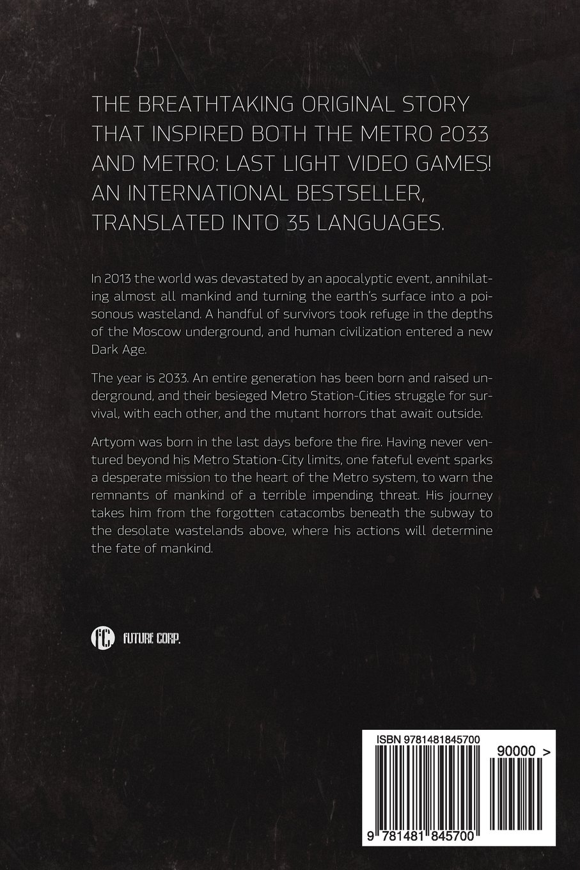 Metro 2033 Livro Pdf