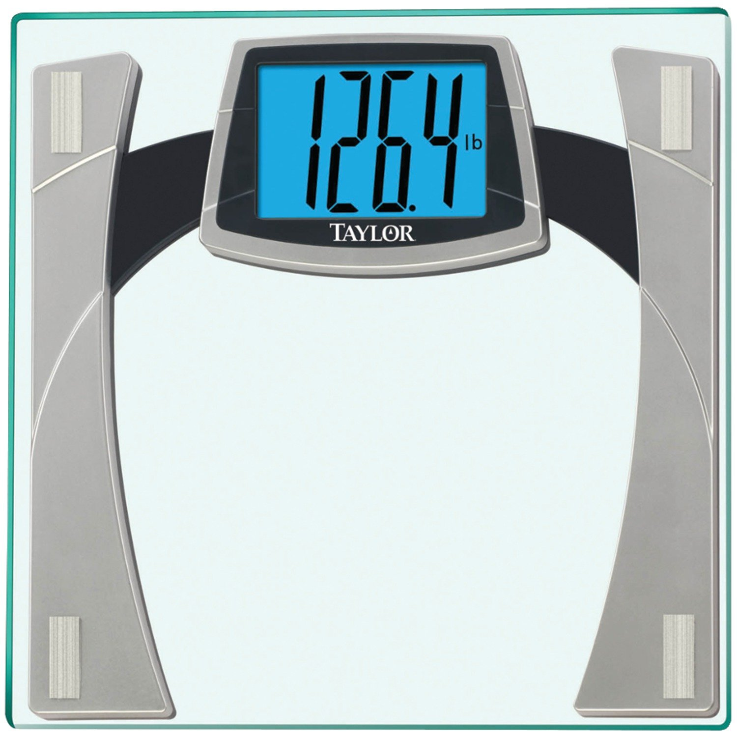 Batteries for bathroom scales - Amazon Com Taylor Tempered Glass Scale With Huge Lighted Readout Health Personal Care