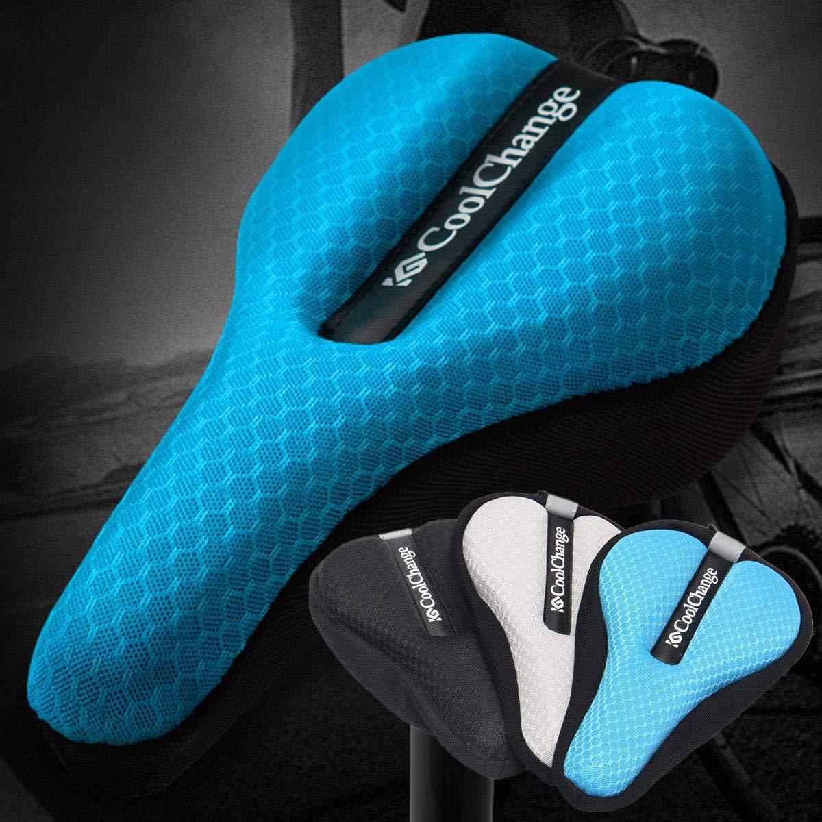 vivpro Silicone Gel Extra Soft Bicycle Bike MTB Saddle Cushion Seat Cover Pad Comfort by vivpro (Image #6)