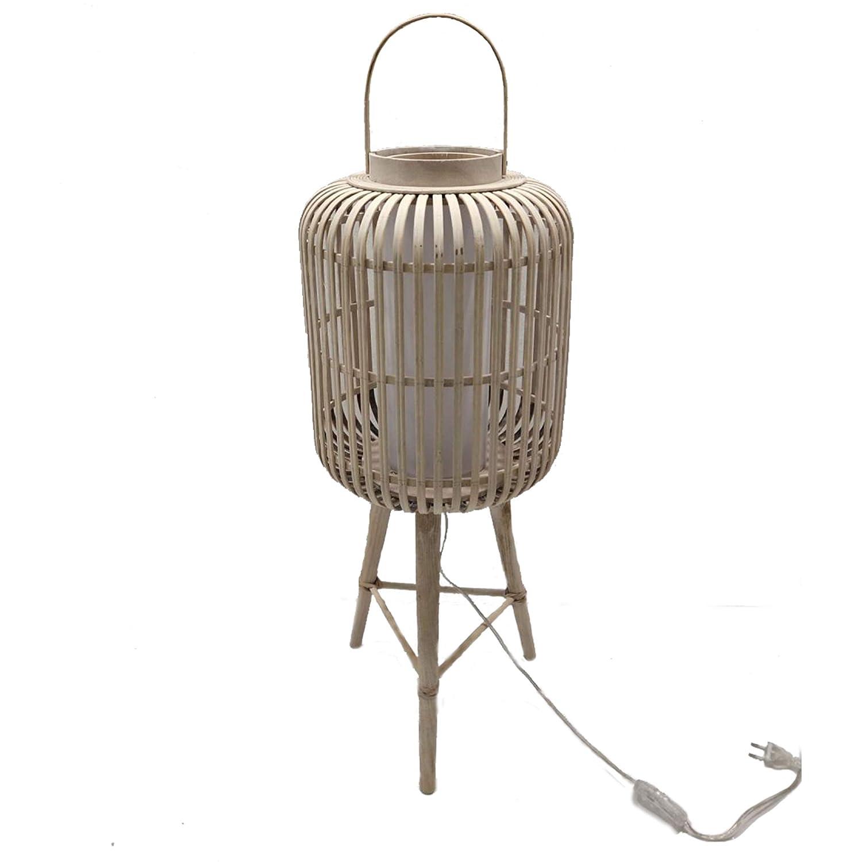 Lámpara rattan modelo: 0040931: Amazon.es: Iluminación