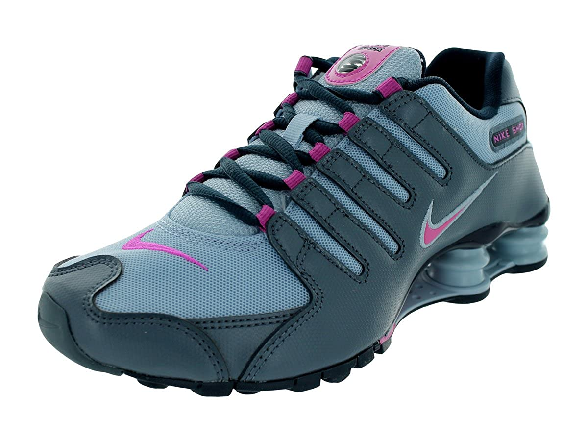 new product 06e56 48737 NIKE Shox NZ EU Womens Running Shoes 488312-400 Light Armory ...