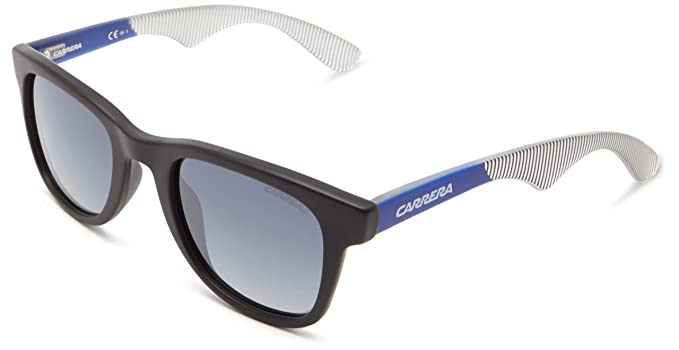 49c5aca96520 Carrera Unisex-Adult's 6000 G5 Sunglasses, Black Bluee Striped, 50 ...