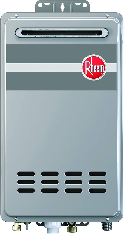 Rheem RTG-84XLN-1 Tankless Water Heater, Grey