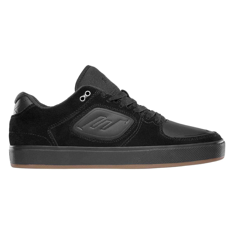 Emerica Herren Skateschuh Reynolds G6 Skateschuhe  9|Black/Black/Gum