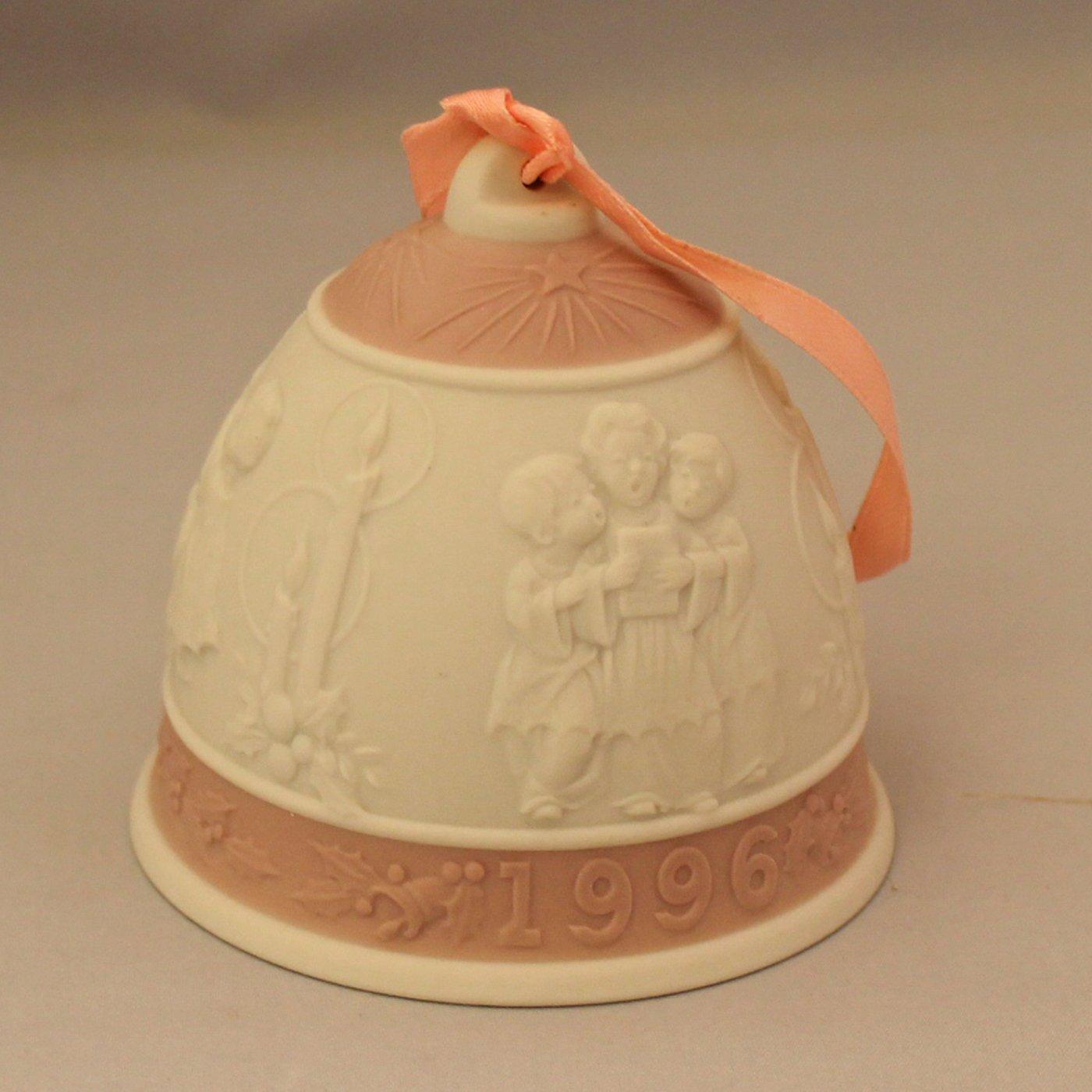 Lladro Christmas Ornament Bell 1996 #16297