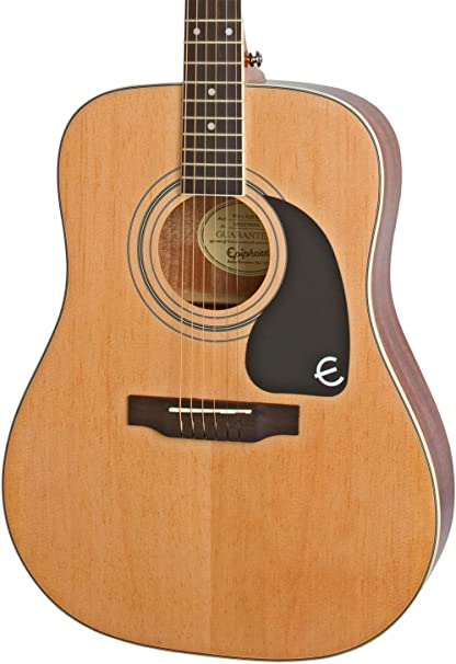 Epiphone PRO-1 PLUS Guitarra acústica Nat: Amazon.es: Instrumentos ...