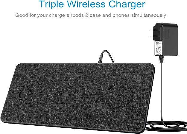 Qi Triple Wireless Charging Station Je 3 Devices Multi Elektronik