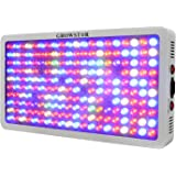 Growstar 1000W LED Grow Light Full Spectrum for Dense Flowers/Hydroponics/Indoor Veg/Greenhouse(12 Bands,5Wx200pcs Leds)