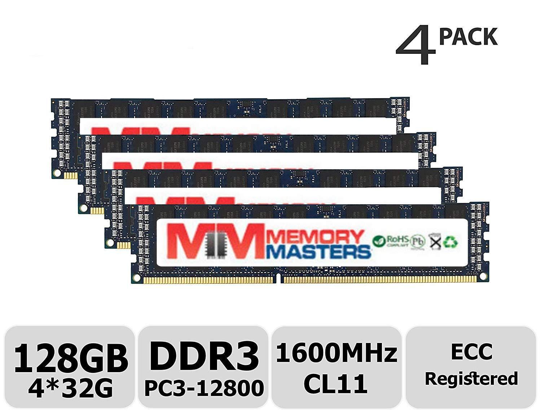 【送料無料キャンペーン?】 MemoryMasters Hynix MemoryMasters 128GBキット (128GBキット (4x32GB) DDR3 (4x32GB) 1600MHz PC3-12800 Registered ECC 1.5V CL11 4Rx4 クアッドランク 240 ピン RDIMMサーバーメモリ RAMモジュールアップグレード (128GBキット (4x32GB)) B07H82TN2C, ナンゴウソン:2ab72f52 --- svecha37.ru