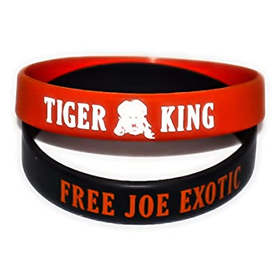 Kraze Two Joe Exotic Tiger King Bracelets: Jewelry