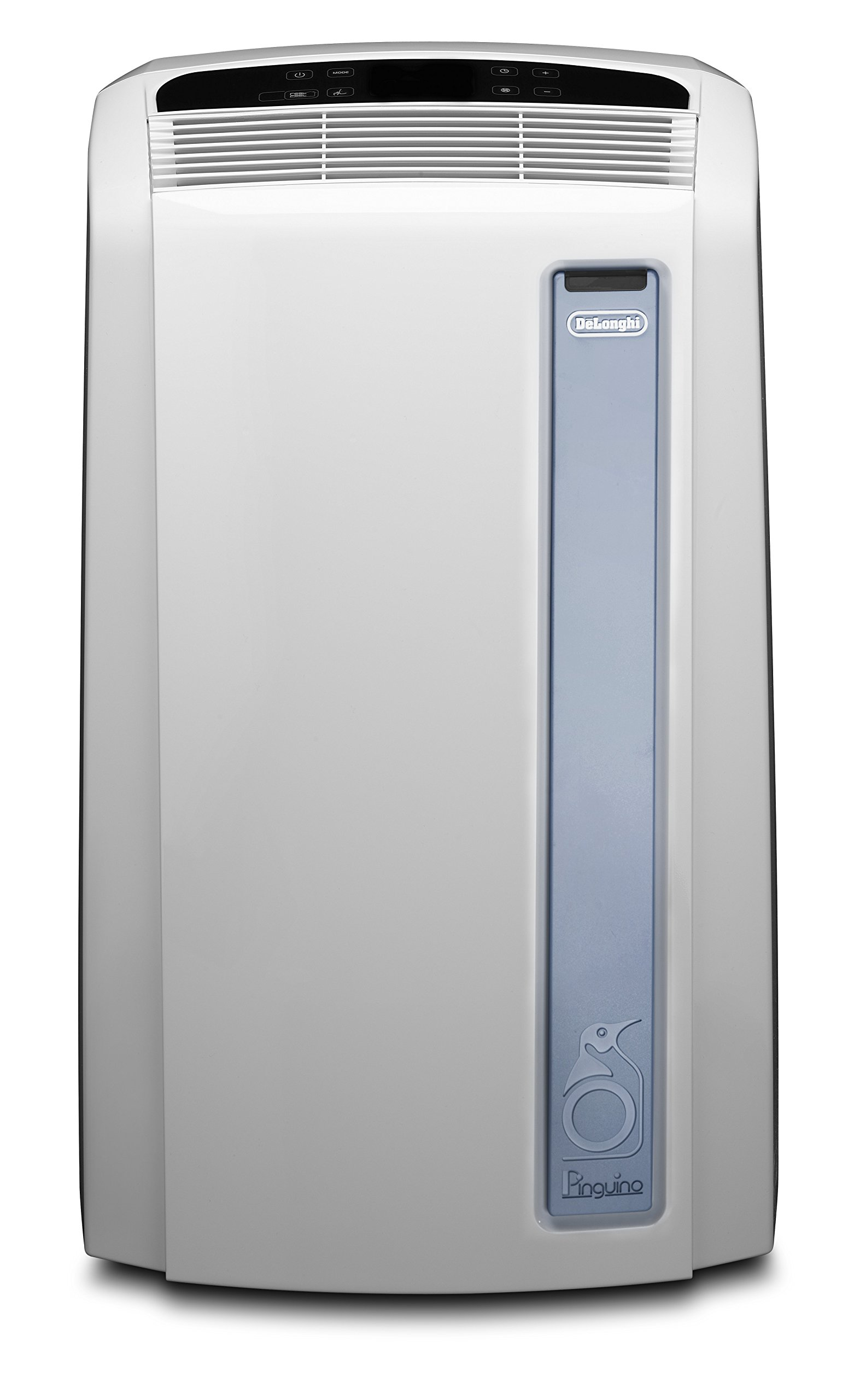 De'Longhi PAC AN97 Pinguino Luft-Luft System Real Feel Klimagerät / A / Max Kühlleistung 2.700 kW/ 10.700 BTU/h / weiß / mobil / Separate Entfeuchtungsfunktion product image