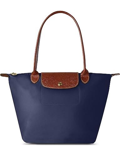 d23e9820de Longchamp , Cabas pour femme Bleu bleu marine: Amazon.fr: Chaussures ...