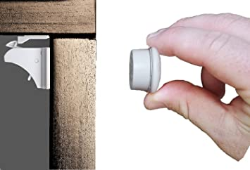 Magnetic Safety Locks For Cabinets, Drawers, And Cupboards. Child And Baby  Proof Your