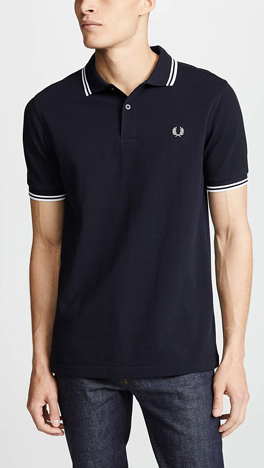 2dce5e5060bf42 Amazon.com  Fred Perry Men s Twin Tipped Polo Shirt  Clothing