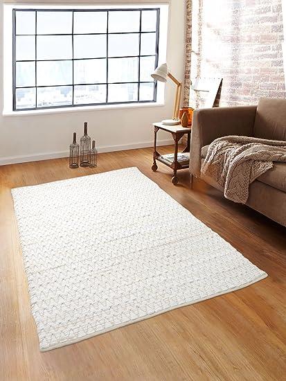 Romee Cotton Dhurrie - 36x60, White