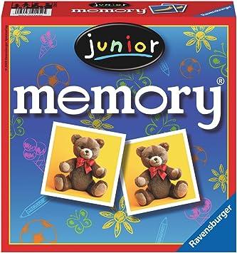 Ravensburger 21452 Memory Junior - Juego de Mesa: Amazon.es: Juguetes y juegos