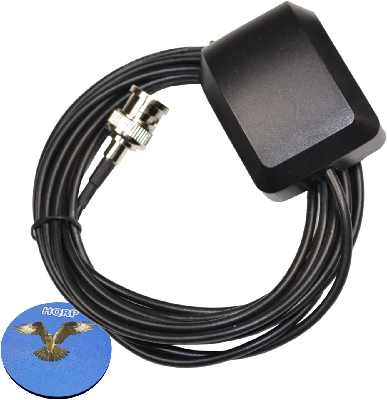 HQRP Antena Externa GPS para Garmin GPSMAP 478/492 / 495/496 / 498C Sounder / 520 / 520S / 525 / 525S / 535 / 535S / 540 / 540S / 740 / 740S / Map 205 ...
