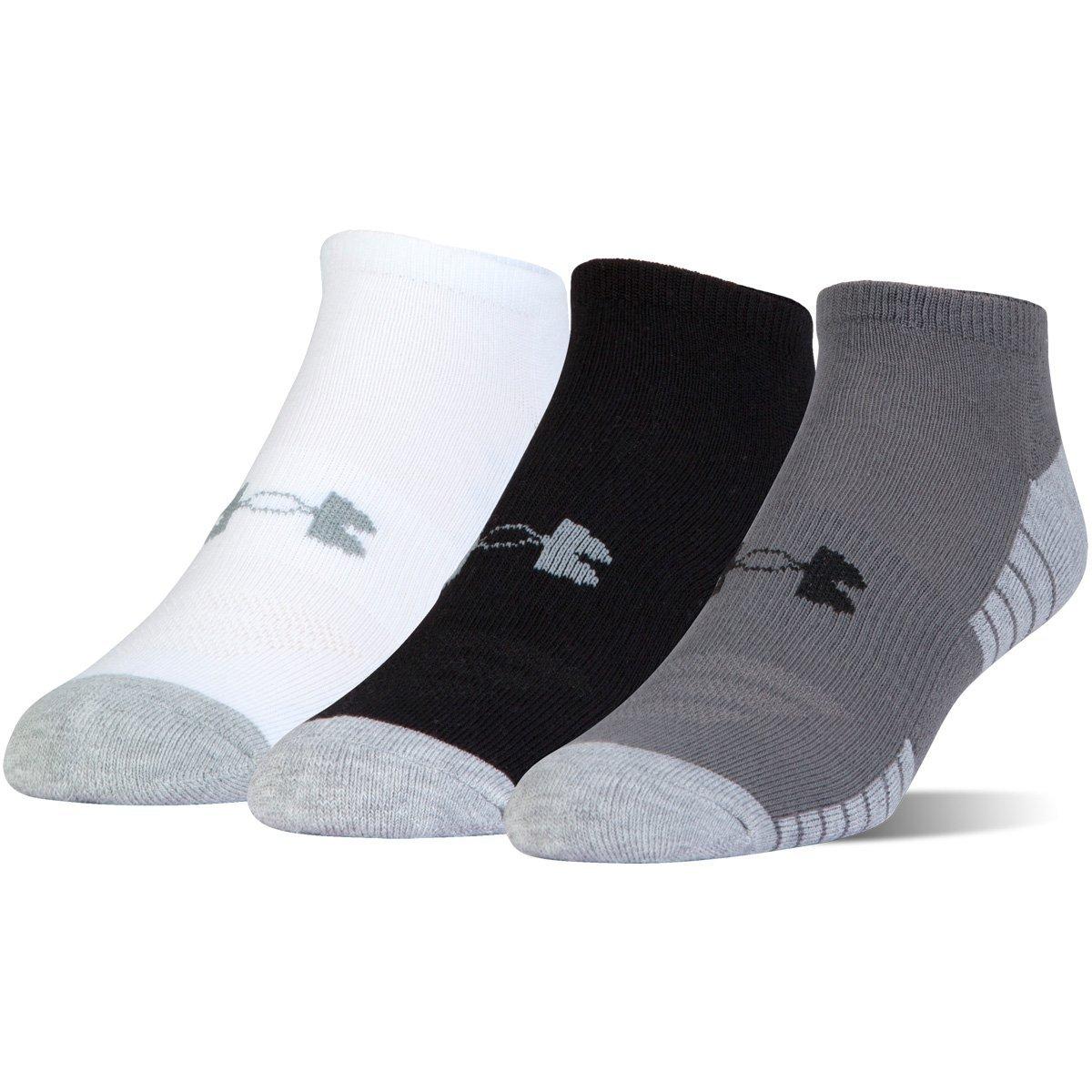 Under Armour Heatgear Tech Noshow 3Pk Unisex Socks 1312439