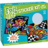 Peaceable Kingdom Sticker Crafts Make My Own Foil Art Sticker Pictures Kit for Kids