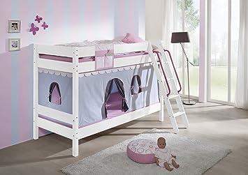 Etagenbett Unten Baby : Furnistad kinder etagenbett stella massivholz kiefer stockbett