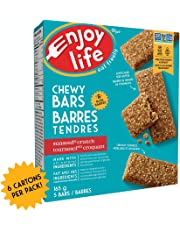 Enjoy Life Chewy Bars, Soy Free, Nut Free, Gluten Free, Dairy Free, Non GMO, SunSeed Crunch, 6 Boxes (30 Bars)