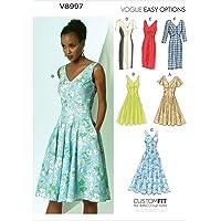 Vogue Patterns V8997 A5 - Patrones de Costura
