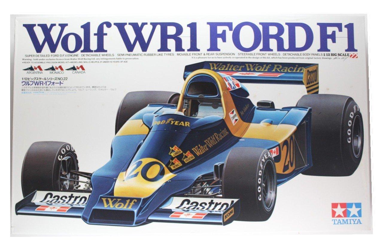 1/12ビッグスケールシリーズNO.22 ウルフWR-1フォード ITEM NO.12024 B008WM5YX6