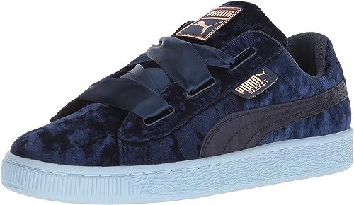 size 40 nice cheap new lifestyle PUMA Girls - Basket Heart Patent Kids: Amazon.co.uk: Shoes & Bags