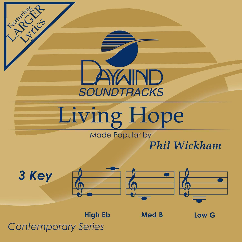 Living Hope [Accompaniment/Performance Track]
