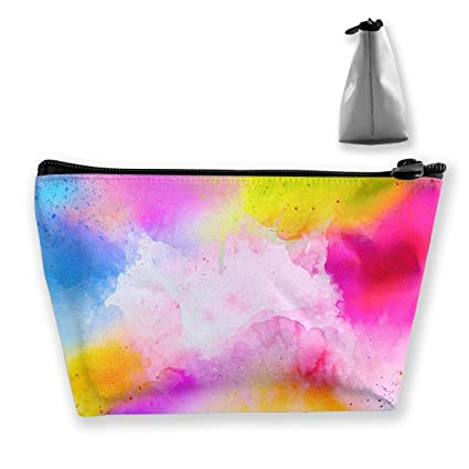 231fe22a31a6 Amazon.com: Cosmetic Bag Abstract Art Multifunction Portable Travel ...