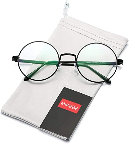 0a7e4d4397 Round Computer Glasses 2019 Spectacle Frames Anti Blue Light Goggles Women  Round Clear Lens Glasses Frame