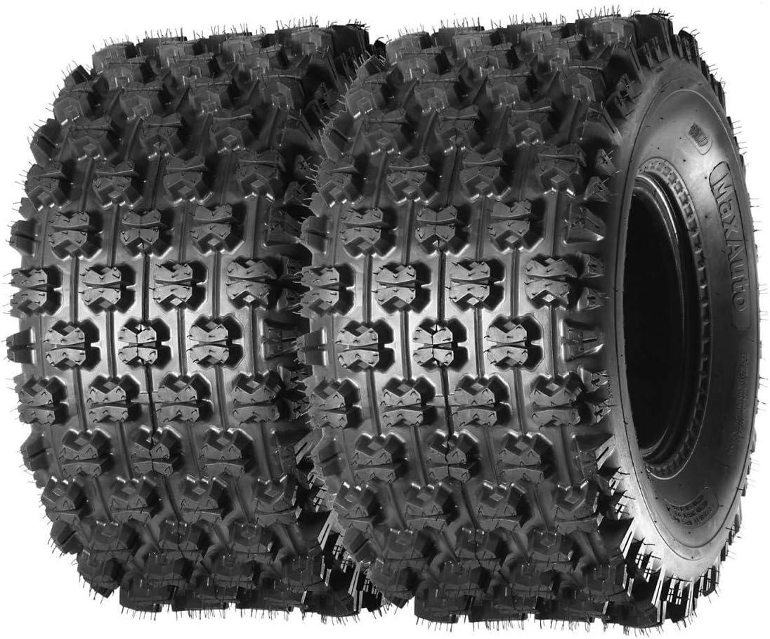 Set of 2 MaxAuto Sport ATV Tires 22x11-9 22x11x9 4PR