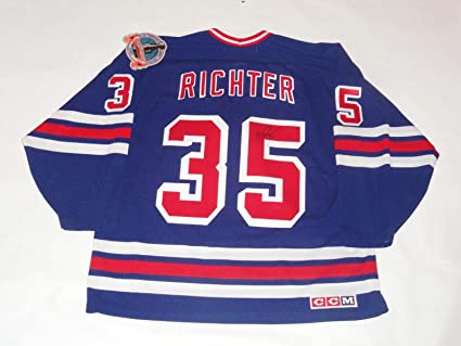 buy popular e65c7 38da5 Mike Richter Signed Jersey - Ccm 1994 Stanley Cup Exact ...