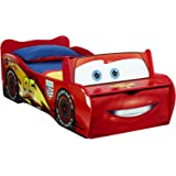 Lit enfant Disney Cars Flash McQueen, avec rangement