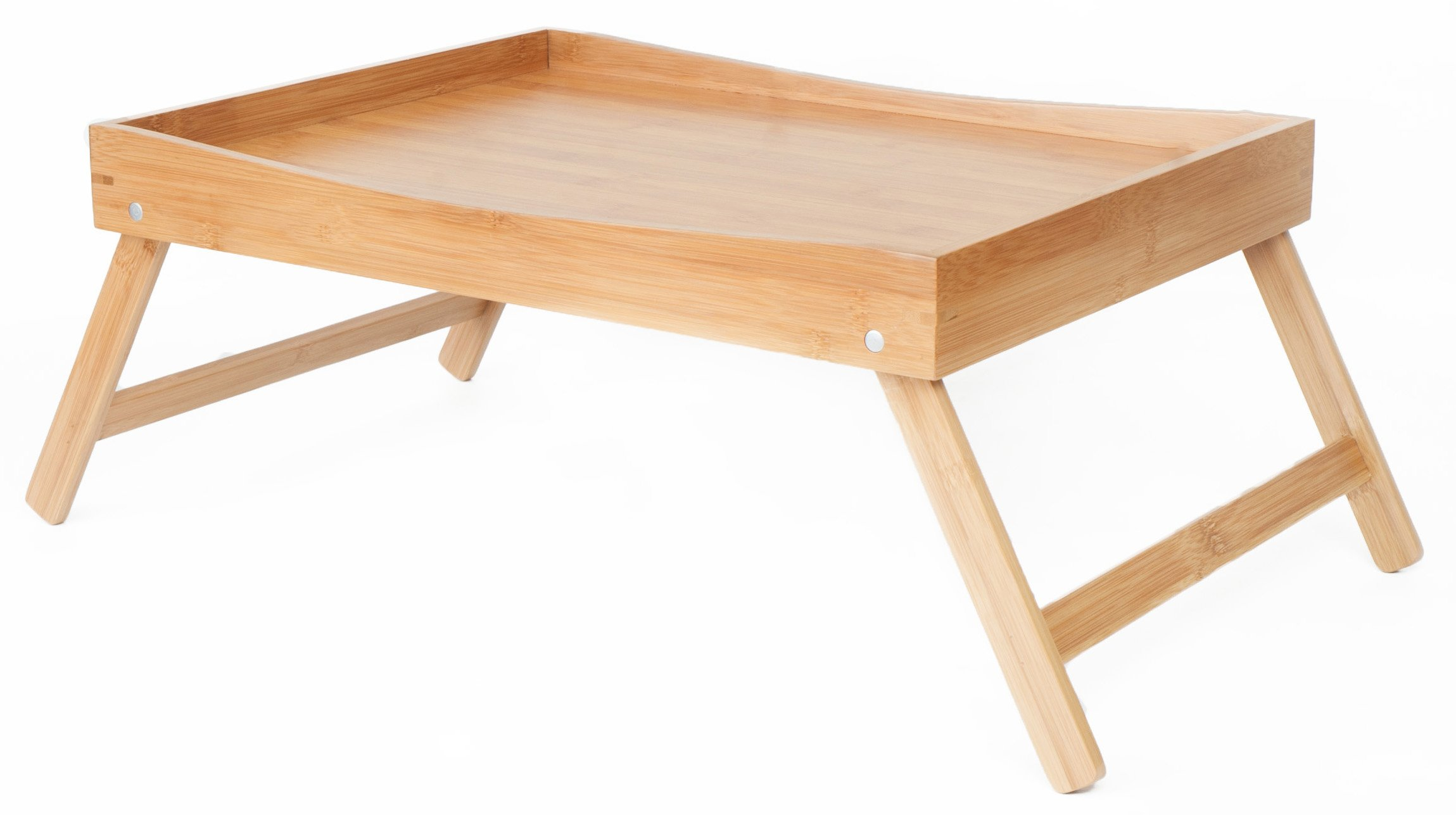 SB Trays Folding Bamboo Bed Tray: Serve breakfast in bed or use as a TV table, laptop computer tray or serving platter
