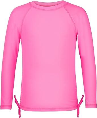 Snapper Rock Girls Short Sleeve UPF 50 Rash Guard Shirt
