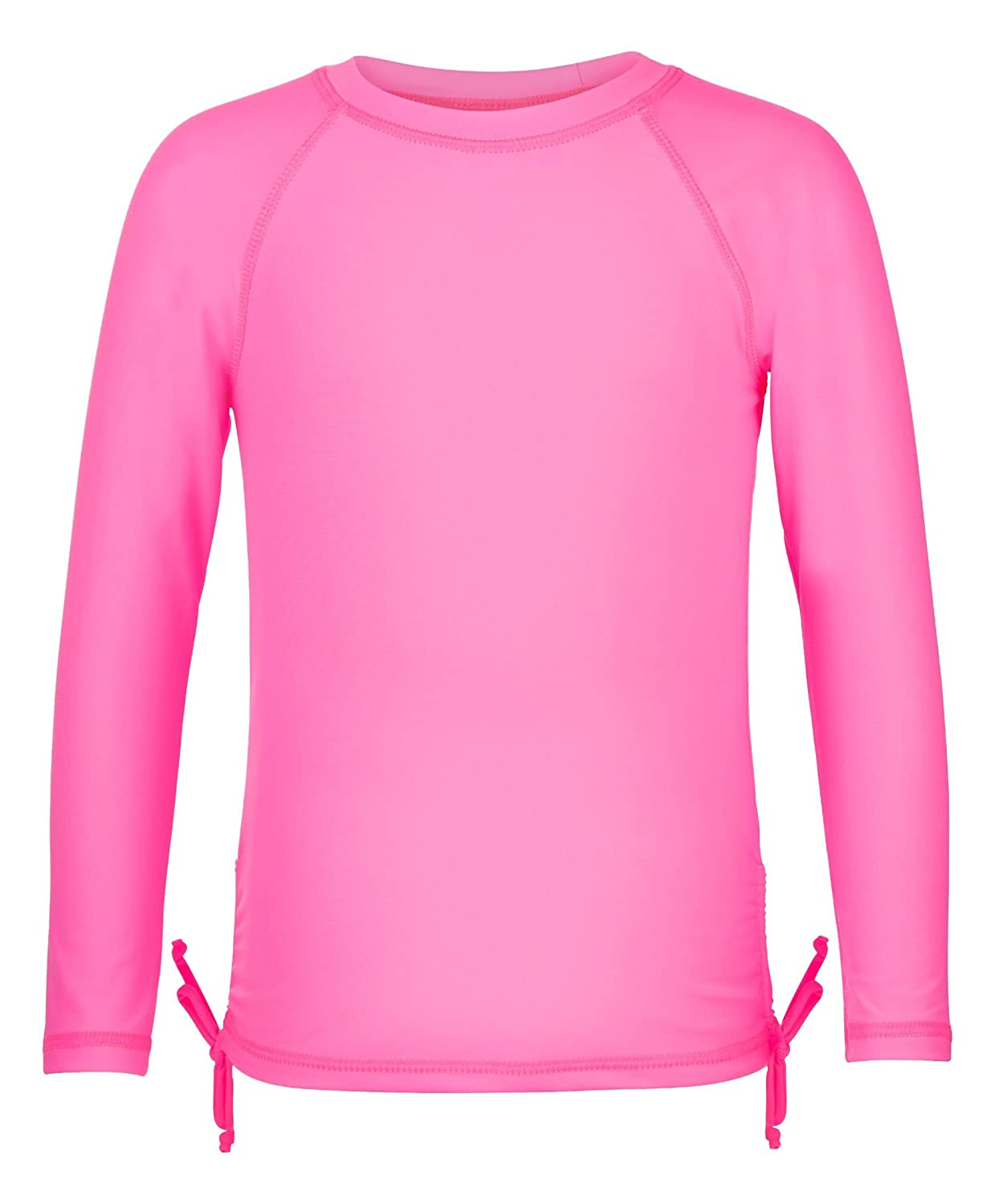 Snapper Rock Neon Pink Long Sleeve Rash Top